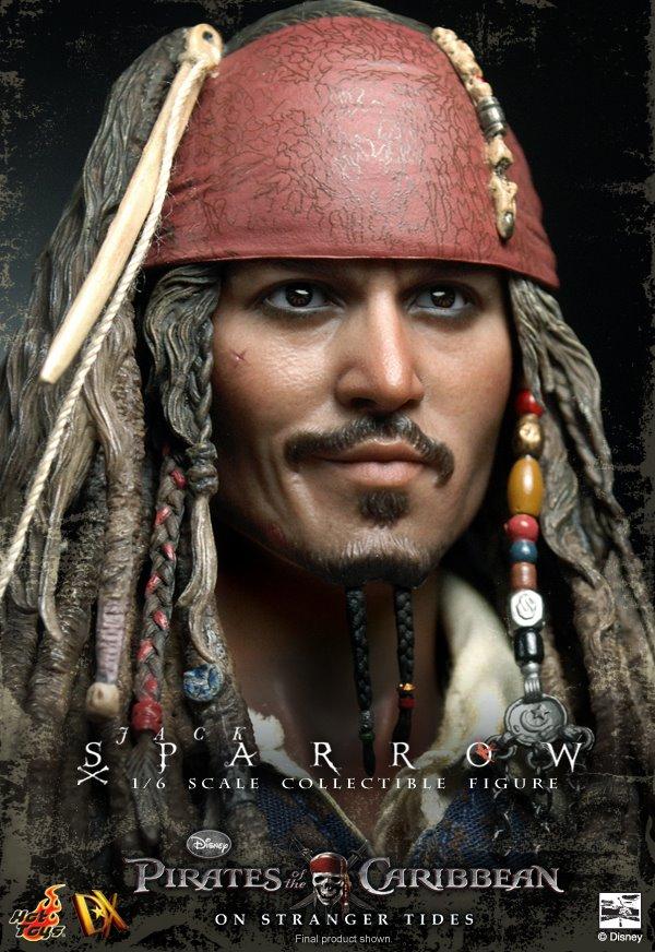 到《加勒比海盗》系列,都可以看到電影中多個栩栩如生的人物模型誕生