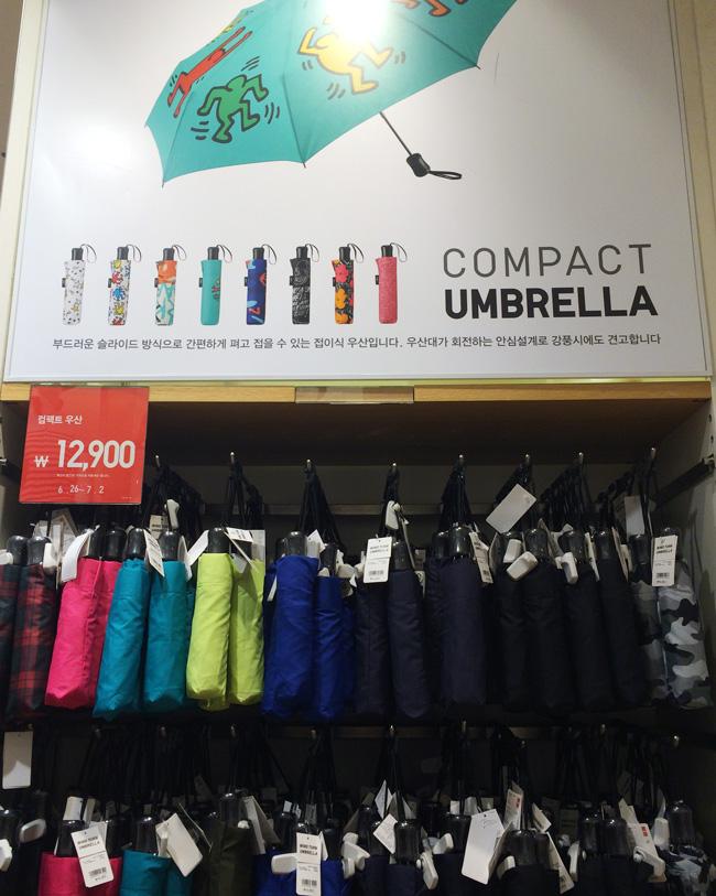 一直以為UNIQLO有賣長傘,原來他們始終都只有賣短傘