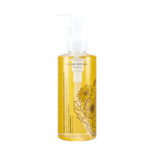 FOREST GARDEN 甘菊卸妝油 / 自然樂園 / 200ml / 台幣售價約370元  添有南瓜油跟甘菊水的成分,就算是敏感性肌膚都能夠適用的卸妝油。除了甘菊以外,還有茶樹、摩洛哥摩洛哥堅果、橄欖、綠茶的系列,可以根據自己的皮膚選擇適合的系列使用!