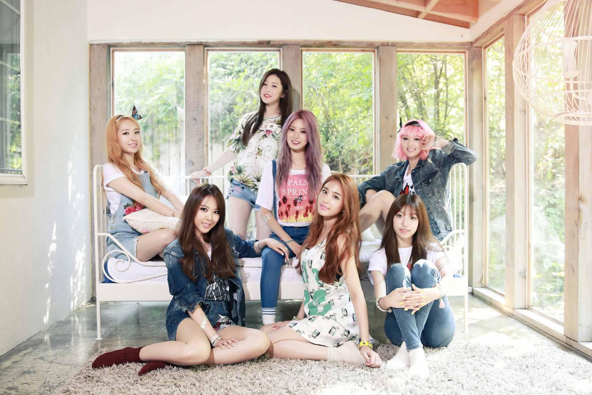 當初這個女團團名公布時,小編真的覺得太妙了!她們就是新的7人女子偶像團體—Sonamoo,韓文意思叫松樹