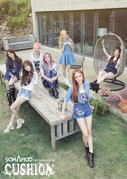 Sonamoo所屬於TS娛樂,他們的前輩是已經相當有名的女子團體Secret