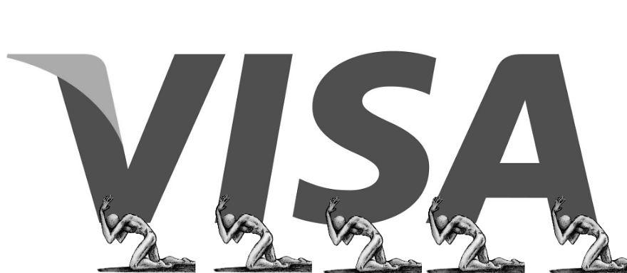 #VISA LOGO 可憐的勞工們...