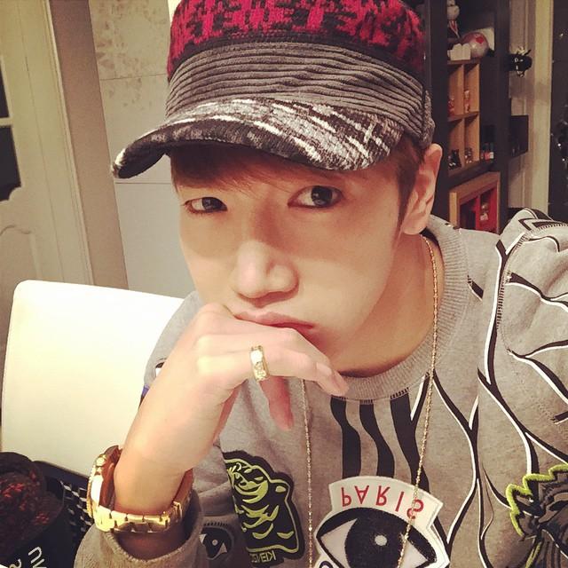Jun.K:真的好累,請我喝酒吧