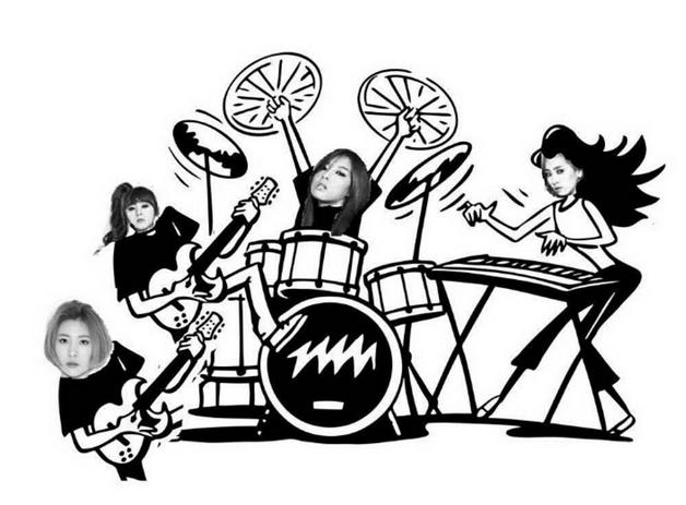譽恩、婑斌、惠林及宣美,成為4人組合的Wonder Girls終於回來了!而且每個人都藏了秘密武器!