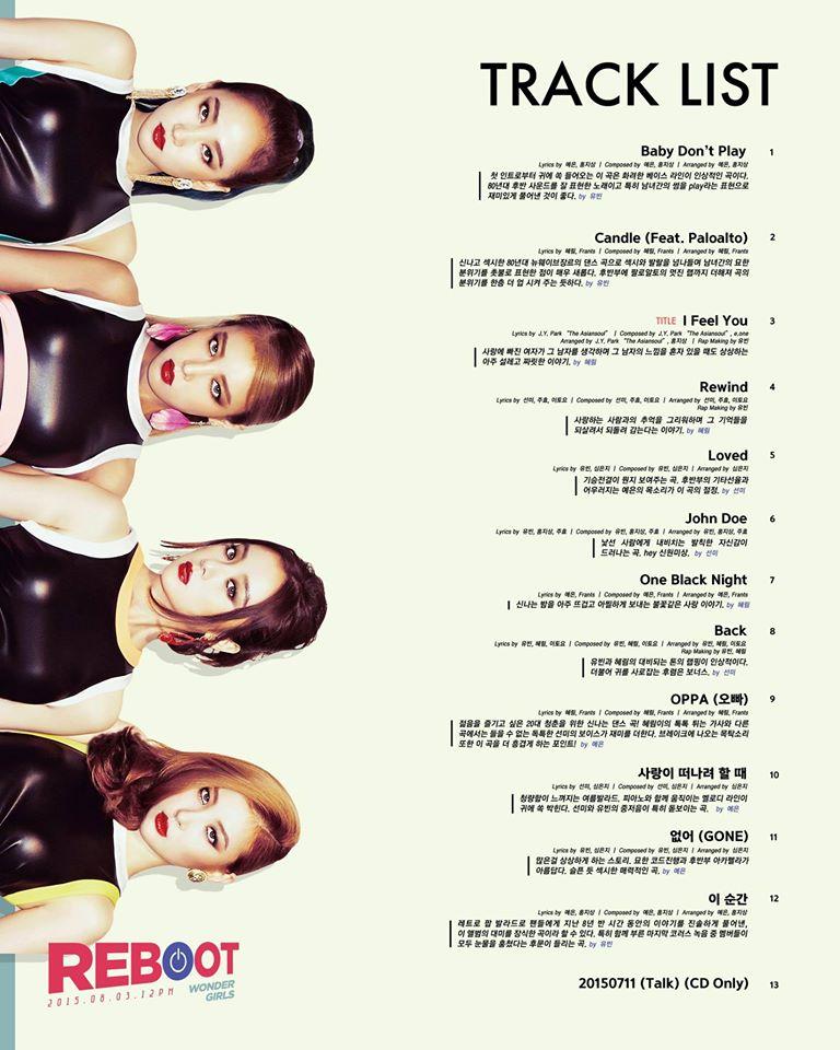 全新進化的WG在這次正規3輯裡面,除了主打歌之外,全成員都參與了作詞、作曲!為了粉絲真的是全心全力在準備呢!