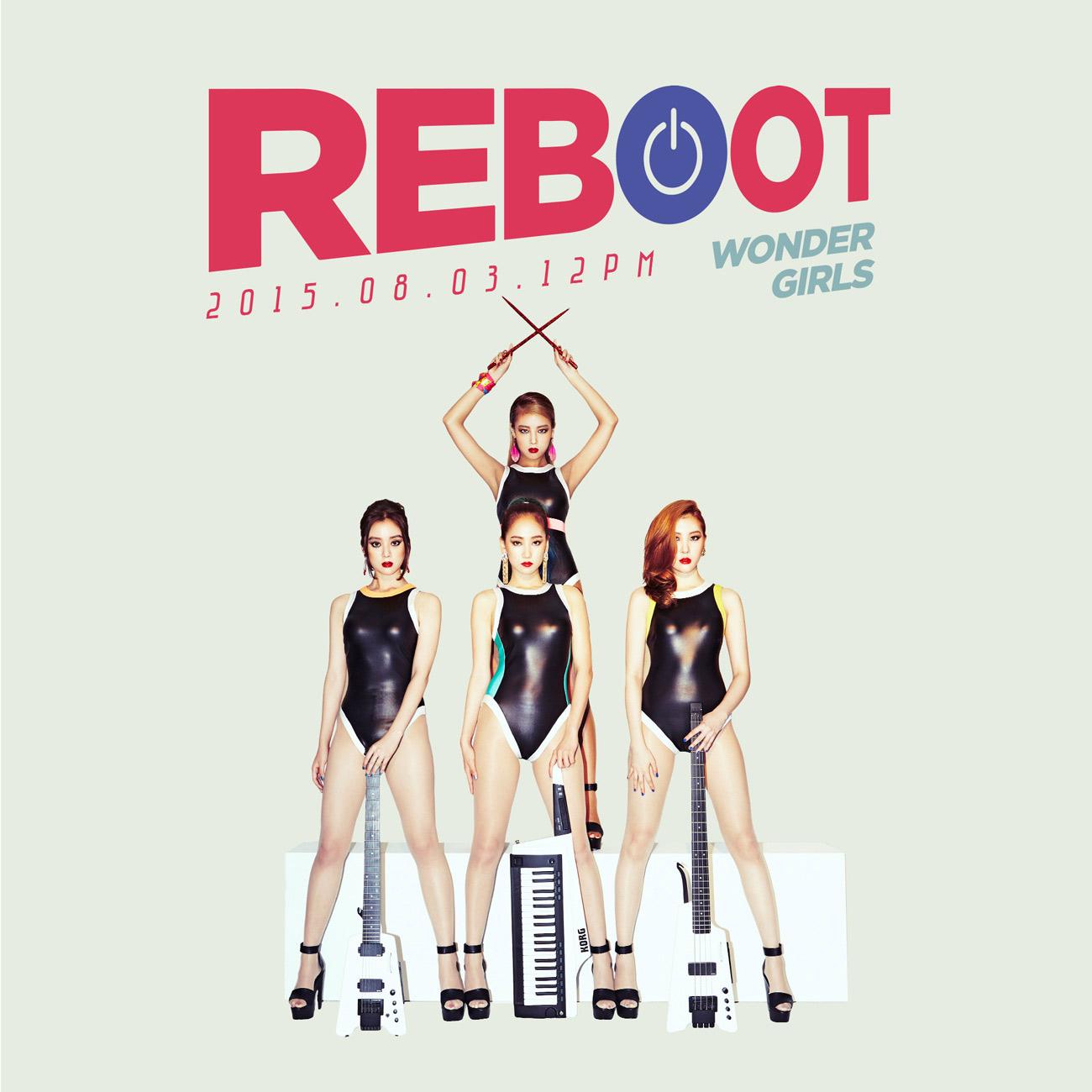 而睽違3年回到韓國樂壇的Wonder Girls也改變成員重新出發!同一天(8/3)將公開正規3輯《Reboot》的主打歌《I Feel You》!!!