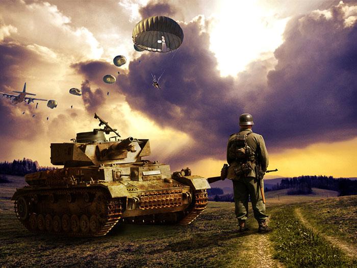 但是~第二次世界大戰到底為什摸會發生呢?