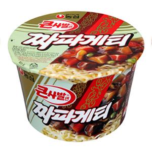 第七名:農心 韓式雜醬泡麵<大碗裝> 銷售額:190億韓元