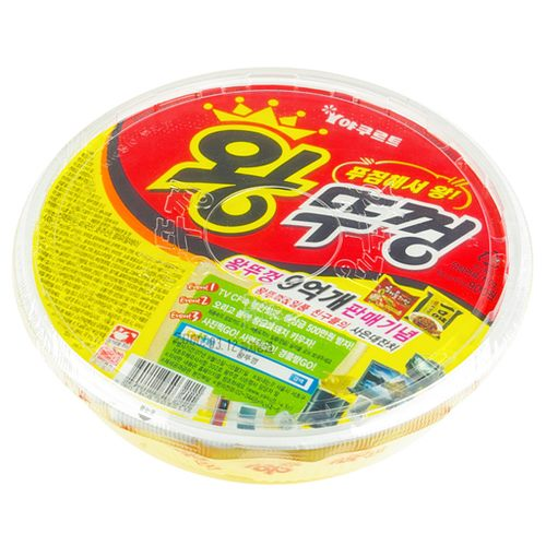 第五名:Paldo 碗蓋王 銷售額:250億韓元