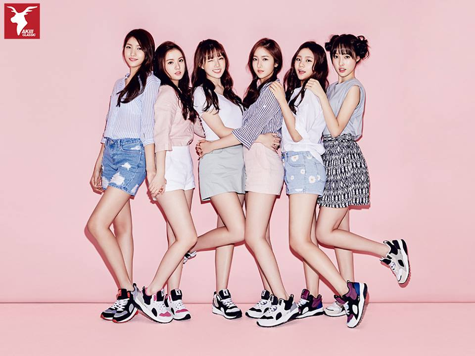 6人新人女團G-FRIEND女朋友,出道還不到半年