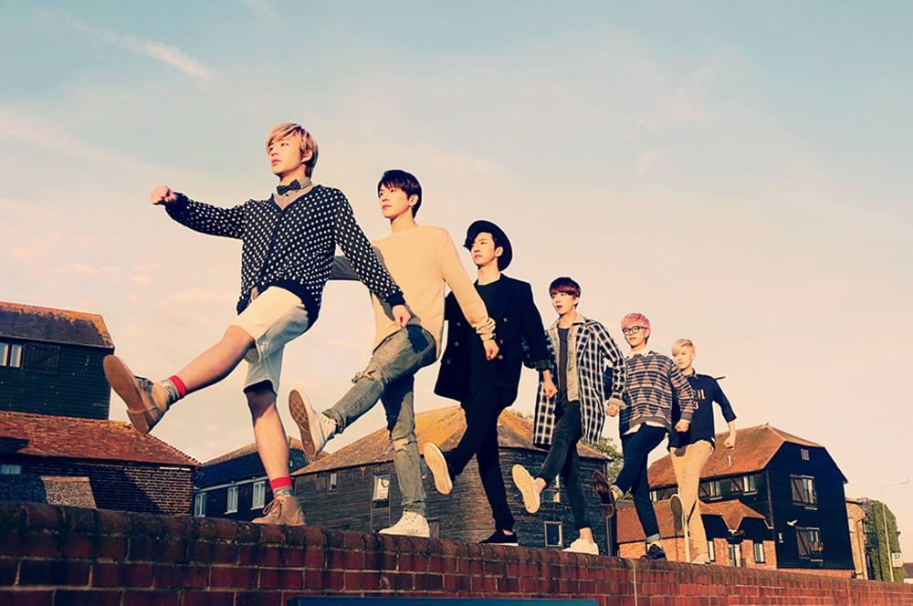 包含成員方容國、Him Chan、大賢、永才、鐘業及Zelo的6人男團B.A.P~
