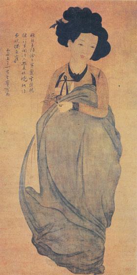 在古時代,藝伎們就是擁有桃花煞的最具代表性的人物