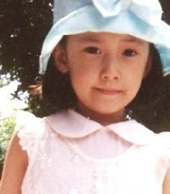 潤娥小時候就是天生美人