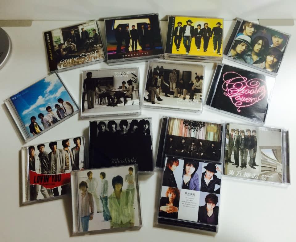 到後來,甚至還要越洋買日本的專輯。(燒錢的日幣)