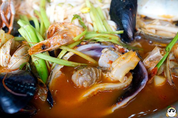 辣辣又鮮美的湯頭,不會過鹹的口味,簡直極品!