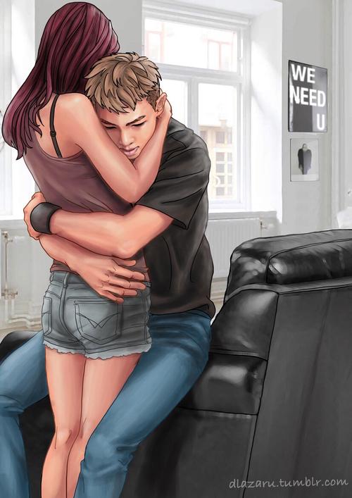 有時男友會有一種無法言喻的落寞感,這時候什麼也不用說,直接給他一個擁抱吧!