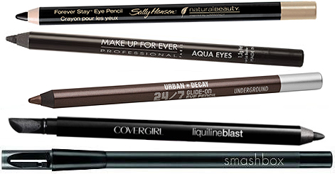 首先先來看看眼線化妝品的種類  1.眼線筆:因為不是液狀的,對於初學者來說會比較好上手,畫的時候比較不會傷害到眼皮,較容易畫出完美的線條