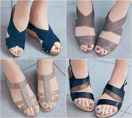 也可以配合鞋子的款式及顏色,選擇當天要穿的指彩絲襪! 非常便利!