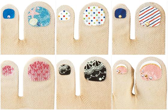 比起以往的樸素色系,今年出了許多年輕女孩也會喜歡的指彩款式喔!