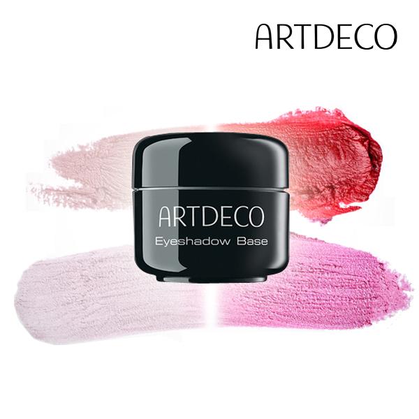 Eyeshadow Base—ARTDECO / 5g / 17,000韓幣(約台幣485元):添加細微的亮粉,顏色與皮膚相稱,還能提高眼部光澤感。這款打底膏能夠填滿眼部細紋毛孔,吸收多於汗水,讓眼影均勻上色,還能防止顏色沈澱造成的眼部暗沈喔。