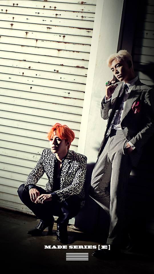 以及GD&TOP的《Zutter》彼此互相廝殺!各自在榜上爭奪第一跟第二