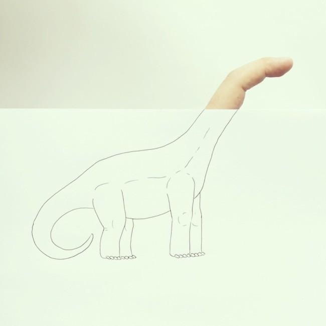 這個是恐龍吼?! (絕對不是長頸鹿!)