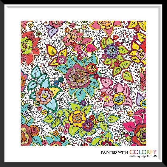 這款真的超級難,但兩個網友的配色都各有千秋呢,尤其五顏六色的葉子好漂亮呢!