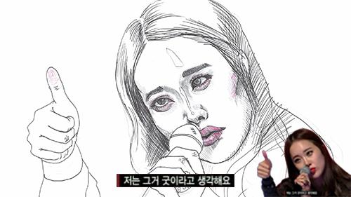 非常GOOD GOOD!! 答案是OST女王「白智榮」! (她在《韓國好聲音》擔任導師)