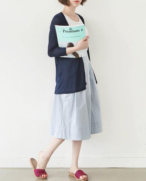 5,900韓幣(約台幣173元) | 長版夏天罩衫   長版的夏天罩衫,因為價格便宜,大家可以考慮長版短版都購入一件,還可以隨搭配來做更換