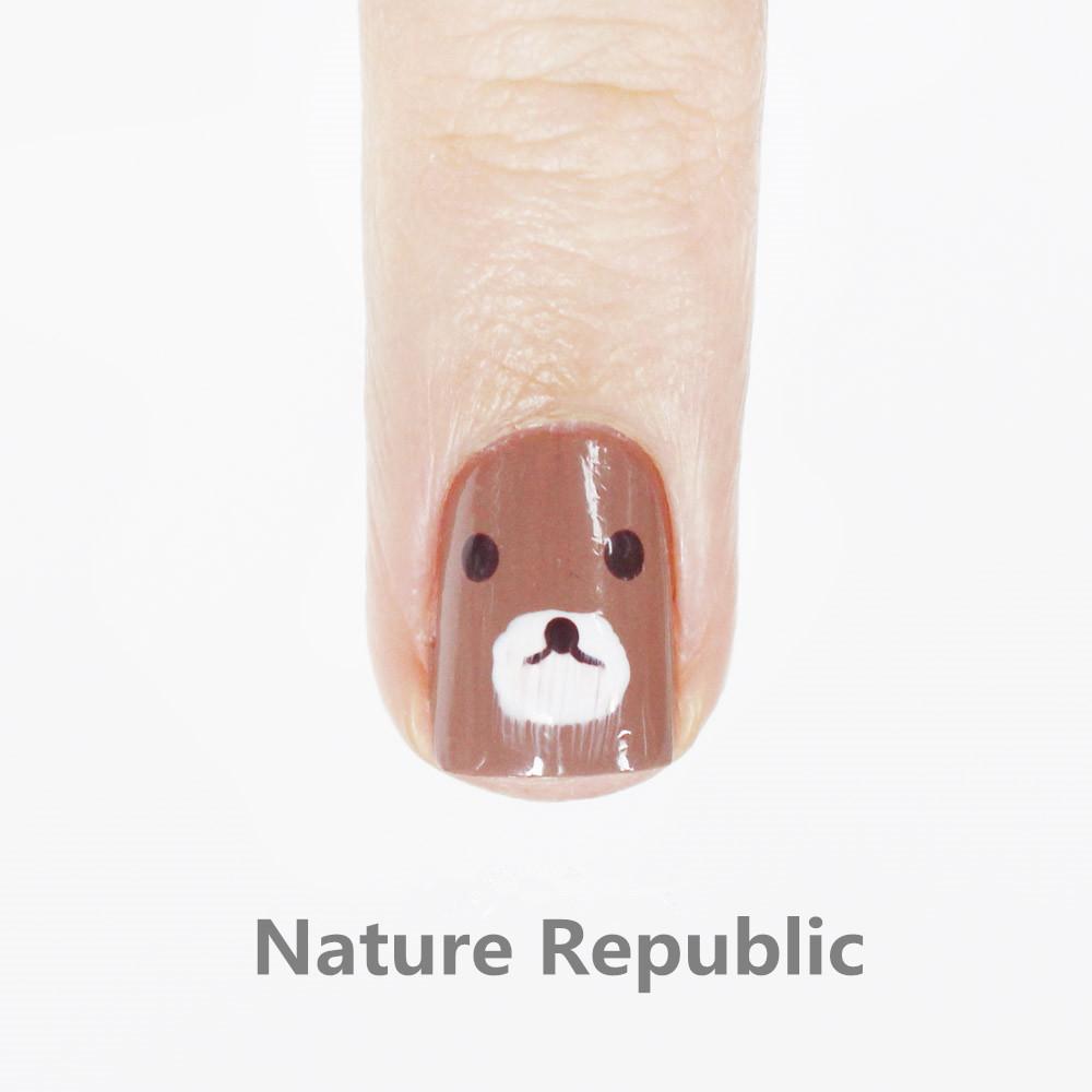 然後無名指是Nature Republic的,小編大概也是摸了三次.....但是....