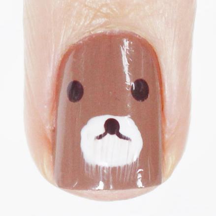 額....怎麼熊寶寶好像長鬍子了...?