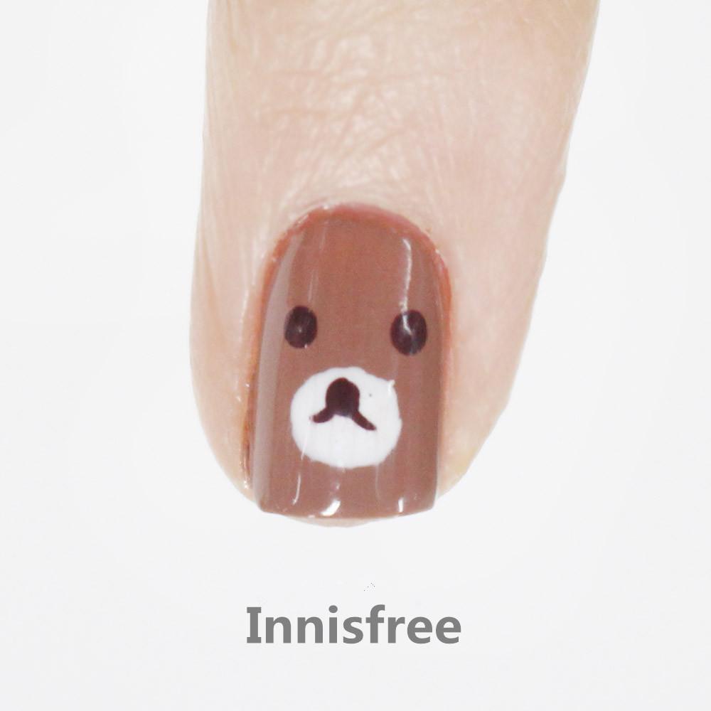 小指是用Innisfree的,也是三次摸摸以後,基本上沒什麼問題,質感還不錯
