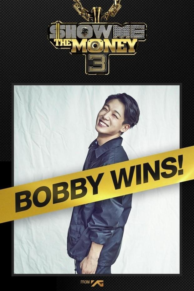 SHOW ME THE MONEY第三季的優勝者~現屬於YG娛樂的男子團體iKON的成員Bobby,在隊內擔任Rapper!