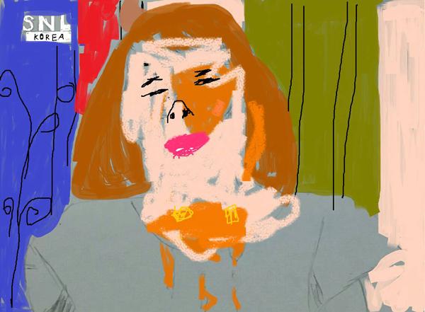 3. 這位肯定是當代藝術畫的狂飯