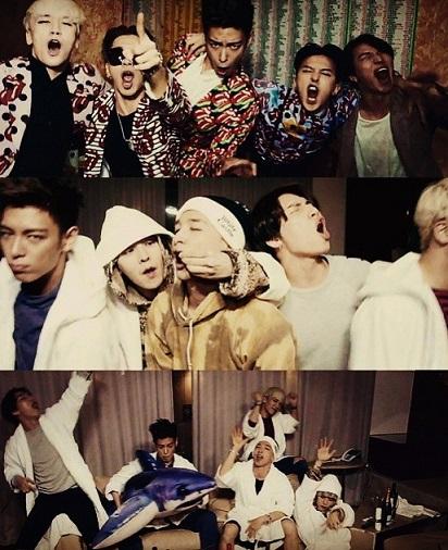 除了一連串的好玩照片,在他的IG上也時常能看見他的BIGBANG愛!!!!!