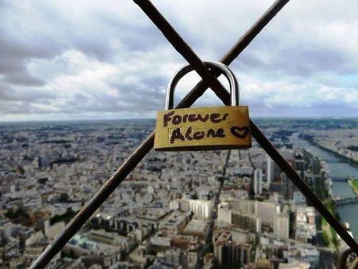 #8. 這種鎖肯定獨一無二:永遠孤單