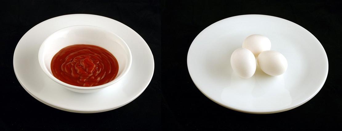 番茄醬 226g = 雞蛋 3顆
