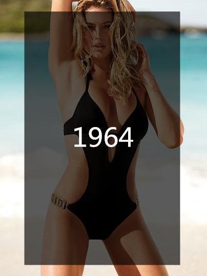 1964年,連身比基尼初登場