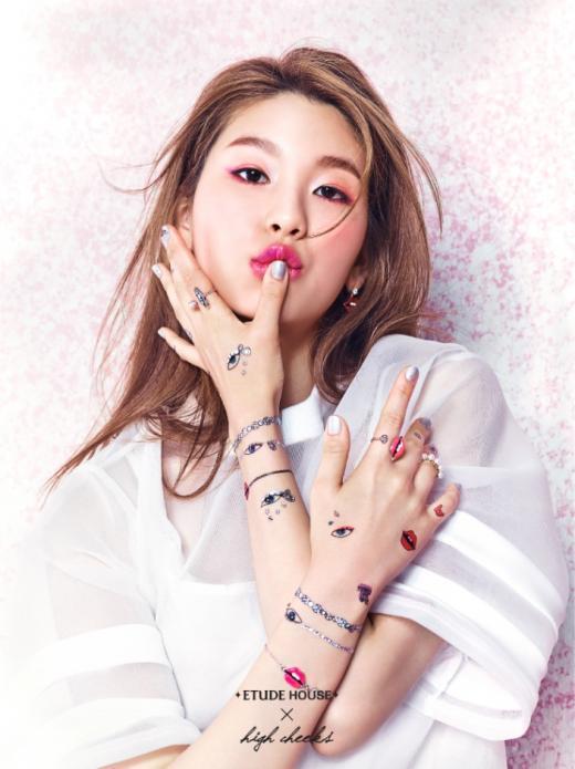 最近韓系美妝ETUDE HOUSE出了一款特別吸引眼球的系列