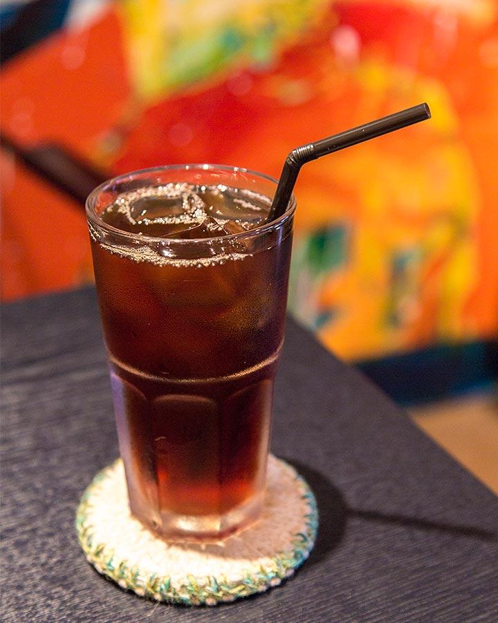 雖然是古老茶坊,但是也有現代人的口味~冰滴咖啡!