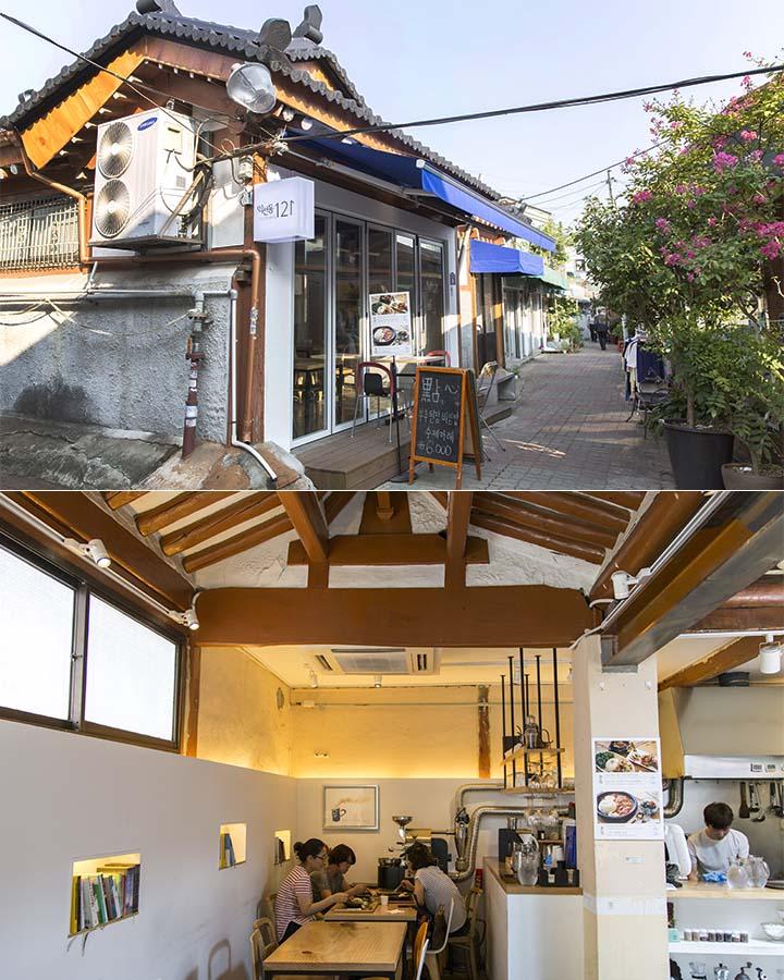 今天選擇的也是一家位於小巷子內的餐廳—「益善洞121」,美味的韓國家庭料理店