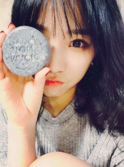 而且這款肥皂現在不只韓國女孩愛用,連日本女性也受到了韓風的影響,搶著使用這款天然皂。