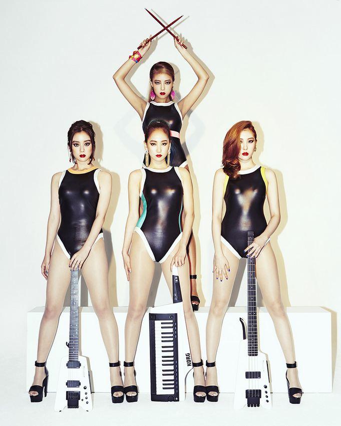 最後由原來的成員宣美補位!形成今天嶄新的Wonder Girls~