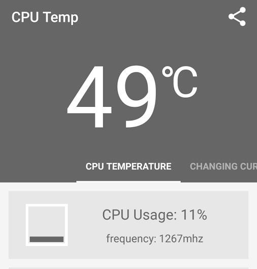 電池的溫度最好不要超過40度,比CPU高出10度的50度視為警戒線!