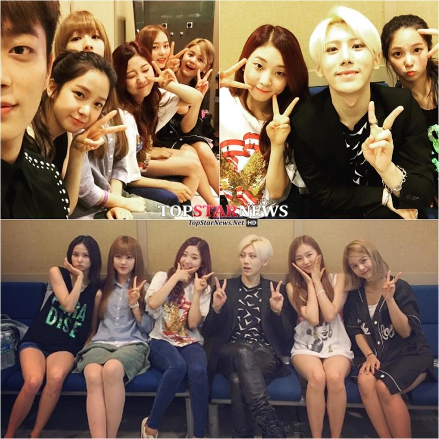 CLC是與師兄BEAST同門,是Cube娛樂的最小忙內團體~