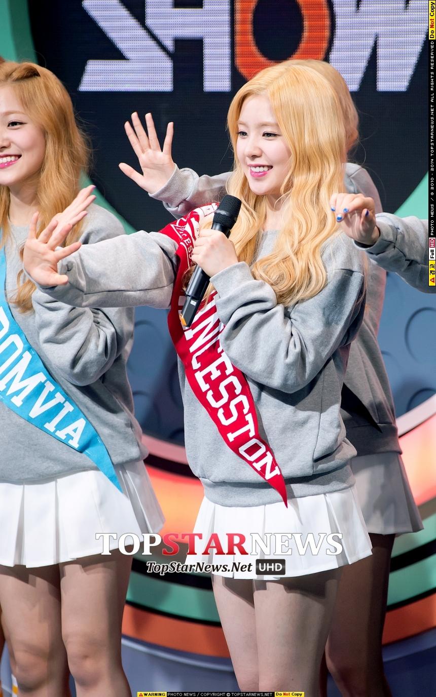 那麼~大家關心的第1名就是! Red Velvet 的Irene是也!