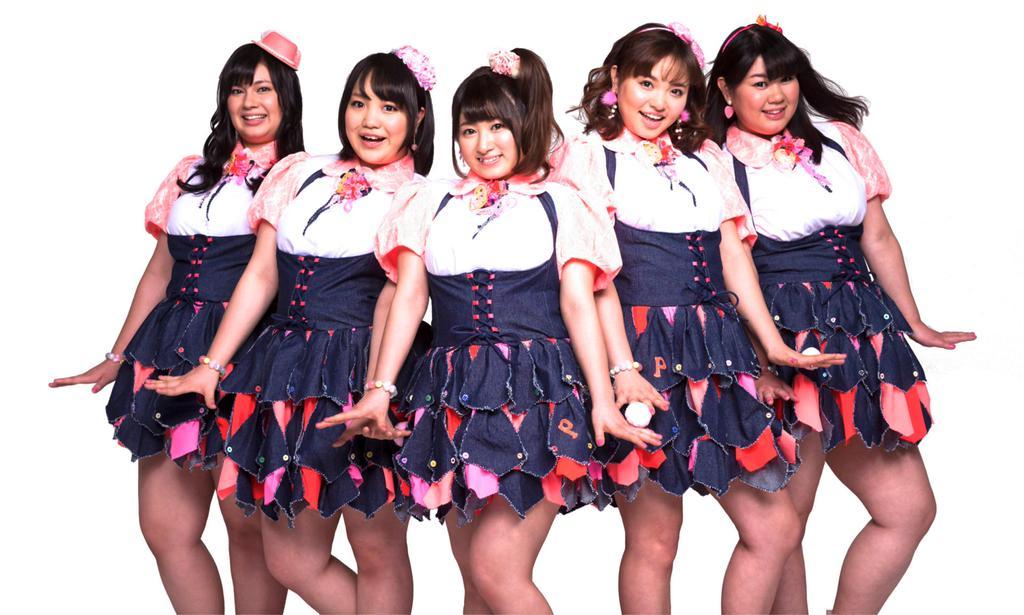 日版推出女子「小象隊」你會買單嗎?總體重高達380kg,平均每人體重76kg,今年1月底在日本出道的女子團體「Pottya」