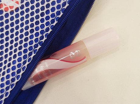 不黏膩的感覺&清新的味道,每次擦在嘴唇上心情都很好~不論什麼季節都可以隨時帶在包包裡保持嘟嘟水嫩唇唷!