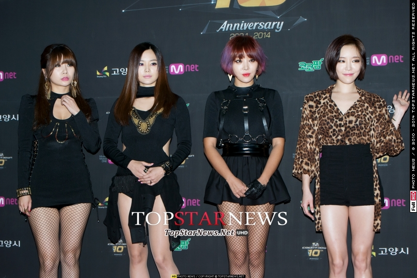Brown Eyed Girls JeA、Miryo、Narsha:38歲 佳人:32歲