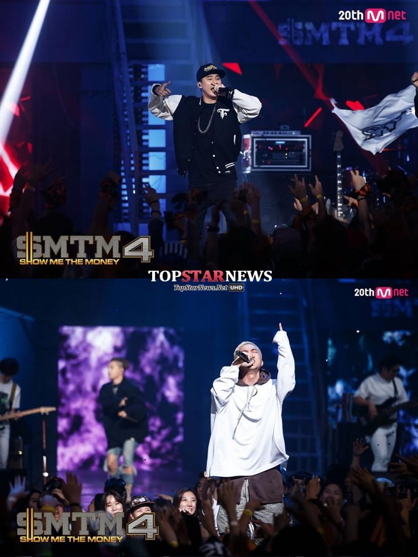 如果說《無限挑戰》是闔家歡樂的大眾性節目,那饒舌嘻哈的小眾但年輕族群,就是收視亮演的《Show Me the Money 4》,MINO雖不同屬節目上的YG team,但身為YG藝人也在歌謠榜單證明實力~